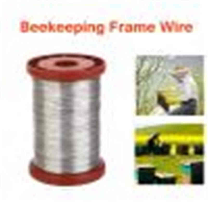 Stainless Steel Wire for Beekeeping Beehive Frames Tool 1 Roll 0.5mm 500g Frames Bee Hives Bees Equipment Special Beekeeping 5pz