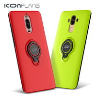For Huawei Mate 9 Ring Case With Kickstand Shockproof Protection Case 360 Degree Rotate Case For