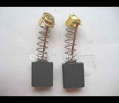 """2 шт. 5/8 """"x 33/64"""" x 7/25 """"угольные щетки двигателя для электрической дрели 7x13x18 мм автомобиля"""