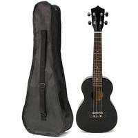 23'' Rosewood Stringed Instrument Ukulele 4 Strings Acoustic Electric Guitarra Bass Guitar with Bag Case For Beginner