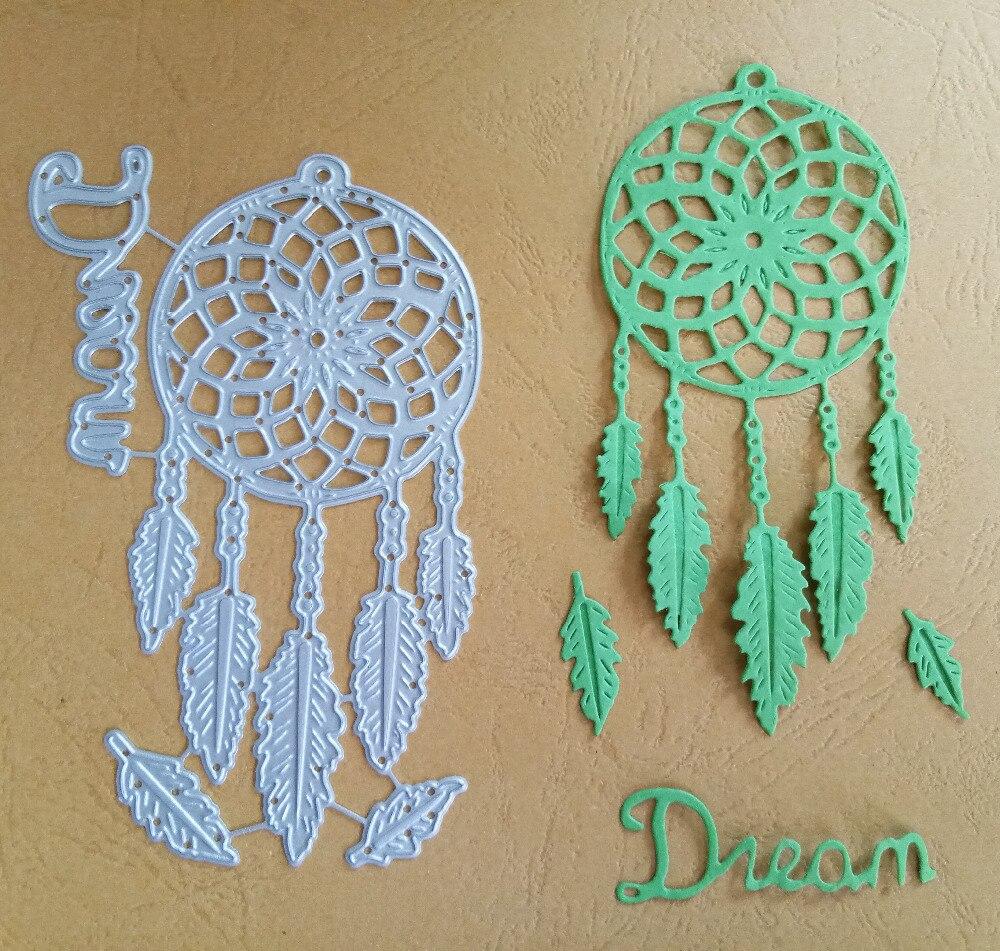 Dreamcatcher Cutting Dies Stencil DIY Scrapbooking Album Paper Card Embossing