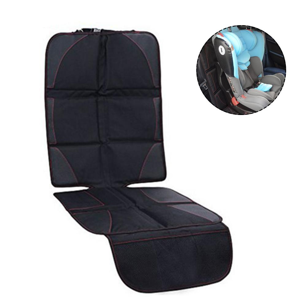 Children Car Safety Seat Anti-Slip Mat Car Seat Protector Saver Cover For Back Seat Leather Upholstery Pad Front or Rear Facing ...