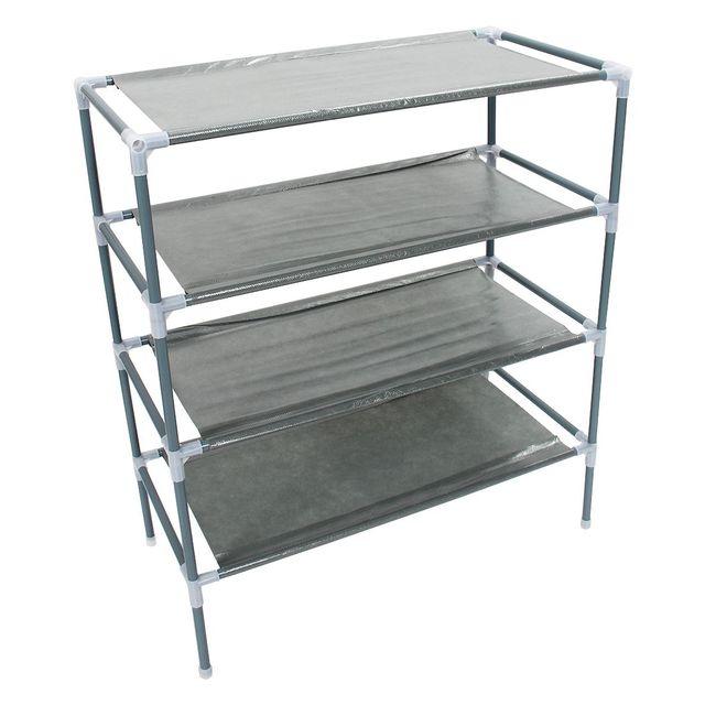 Non Woven Fabric Storage Shoe Rack Hallway Cabinet Organizer Holder  Removable Door Shoe Storage Cabinet Shelf DIY Home Furniture