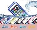 Противоударный Пылезащитный Подводные Дайвинг Водонепроницаемые Чехлы Для iphone 6 6 s Plus Телефон Сумка Shell Коке Капа Fundas Кожи