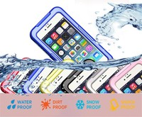 Shockproof Dustproof Underwater Diving Waterproof Cases Cover For Iphone 6 4 7 Inch For Iphone 6