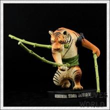 One Piece Roronoa Zoro Tiger 15 years Special Action Figure Japanese Anime Figure pvc 18CM anime Model Toys A219