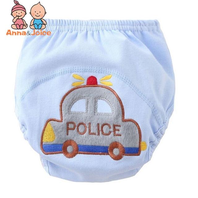 3 Pcs/lot Baby Washable Diapers Underwear/100% Cotton Breathable Diaper Cover/Training Pants B1trx0002 4