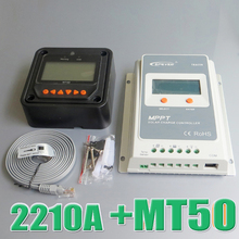 Tracer 2210A EPsloar 20A MPPT Solar system Kit Controller 12V 24V LCD Diaplay EPEVER Regulator with MT50 Meter