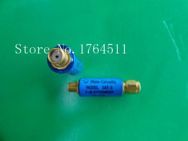 [BELLA] MINI SAT-3 DC-1.5GHz Att:3dB 2W SMA Coaxial Fixed Attenuator  --5PCS/LOT