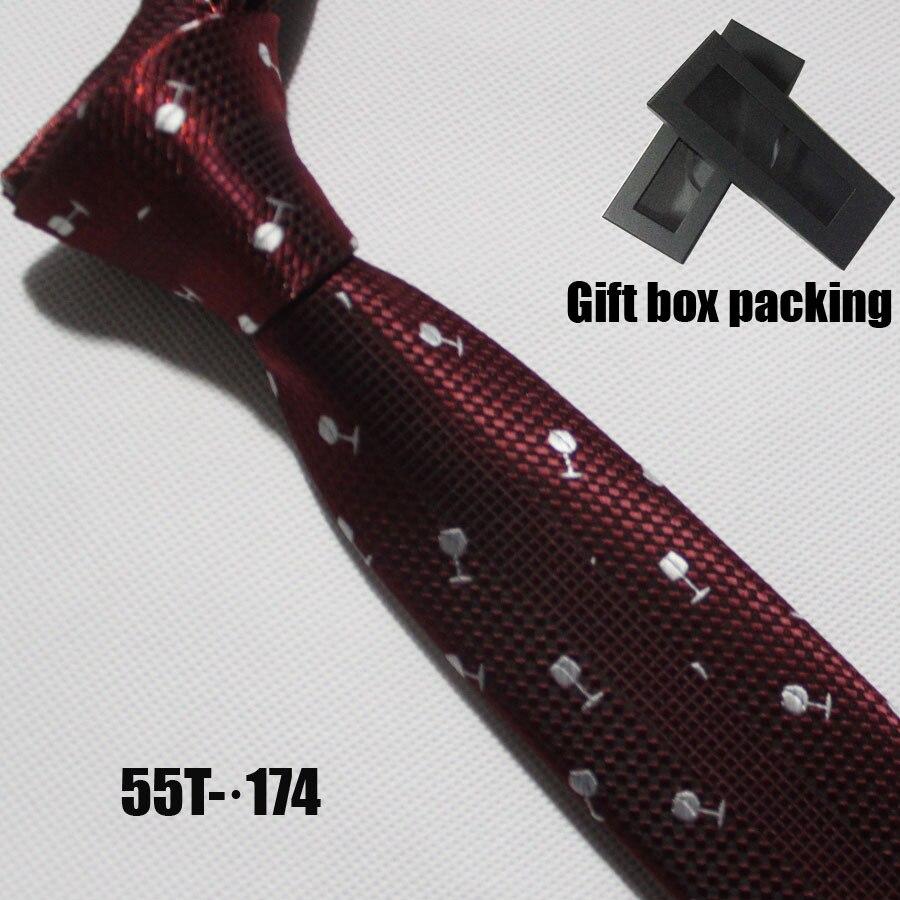 Lingyao дизайнер галстук характер личности галстук бордовый связи с вином Glassess - Цвет: Фиолетовый