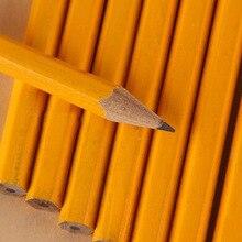 50 قطع القياسية HB أقلام رصاص مع ممحاة مكتب و اللوازم المدرسية خشبية القرطاسية مدرسة اللوازم المكتبية المواد Escolar