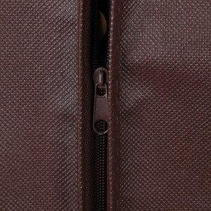 Image 4 - Erweiterung Kleidung Abdeckung vlies Stoff Staub Feuchtigkeit beweis Hängen Tasche für Winter Kleidung Pelz Mantel Protector AHD001