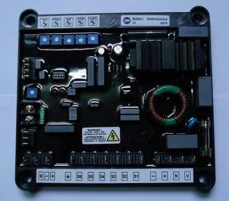 все цены на  Generator AVR M40FA640A/A Voltage Regulator Automatic high quality alternator generator spare parts  онлайн