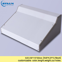 Iron electric box DIY iron enclosures for electronics junction box custom distribution box amplifier enclosure 230*110*350mm