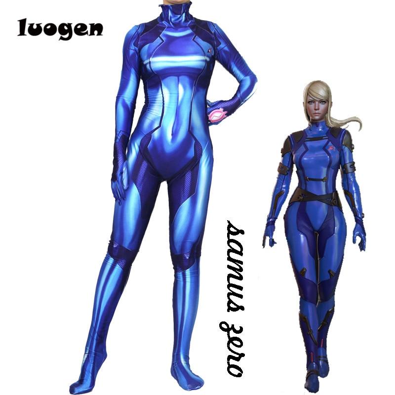 Cosplay Anime Women Superhero Suit Costume Bodysuit Jumpsuits Zentai Catsuit