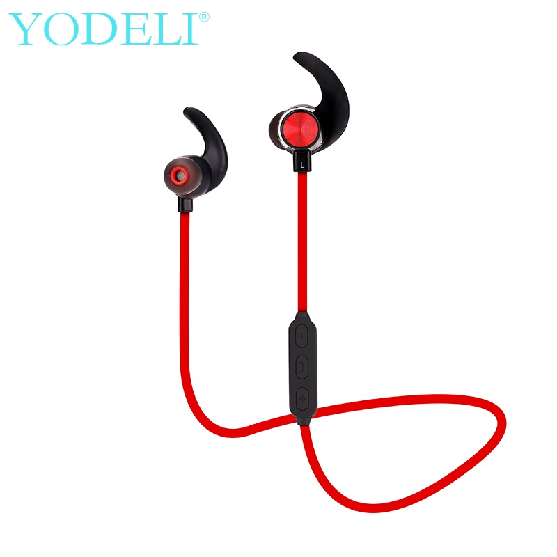 YODELI bluetooth wireless earphones sports sweatproof bass earpods Airpods headset with microphone for iPhone mobile <font><b>phone</b></font>