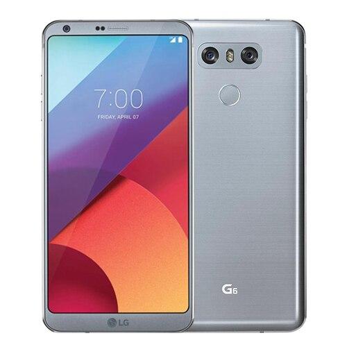 Разблокированный LG G6 четырехъядерный 5,7 дюймов 4 Гб ОЗУ 64 Гб ПЗУ две sim-карты двойная задняя камера 13,0 МП LTE 4G мобильный телефон - Цвет: Grey