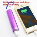 Высокая производительность рекламные 2600 мАч мобильный зарядное устройство портативный 18650 power bank чехол для смарт-телефон