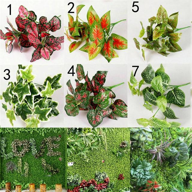 € 0.64 26% de DESCUENTO|Venta 1 Pza nuevas plantas artificiales de alta  calidad para interiores, hojas falsas, follaje para oficina, decoración de  ...