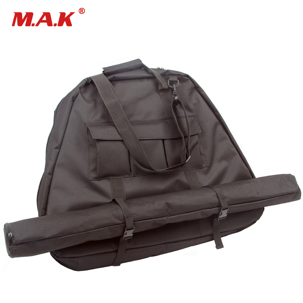 Compound Bow Bag for Outdoor Hunting Shooting Accessories Archery Bow Case Deluxe Black Canvas Bow Arrow Portable Bag dmar archery quiver recurve bow bag arrow holder black high class portable hunting achery accessories