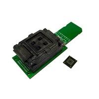 EMMC169 153 turn SD banc d'essai Programmeur BGA169 prise téléphone mot bibliothèque lire et écrire siège SD carte lignes de Données