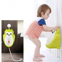 Factory Direct Sucker Frog Children Urinal Male Baby Standing Urinal Boy Urinal Toilet