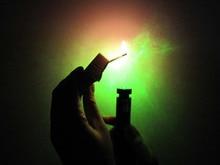 200mw matches mantianxing green light laser flashlight pointer pen