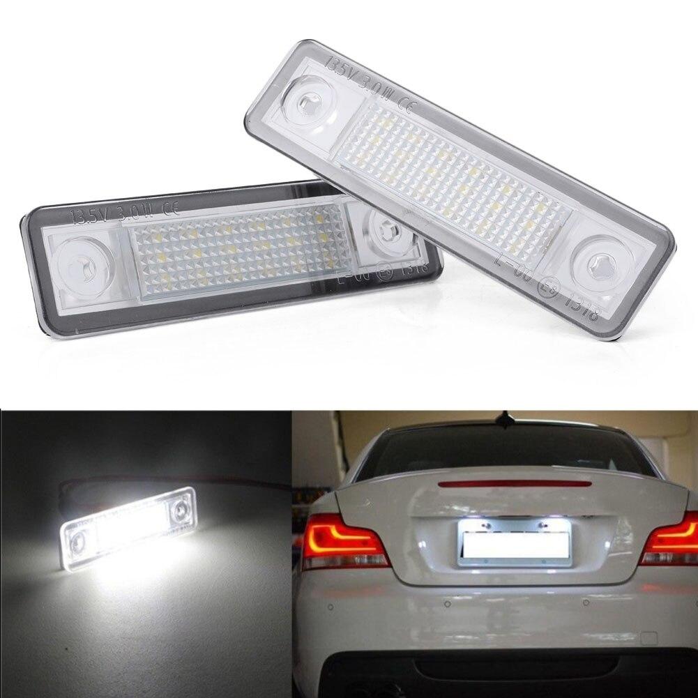 2x Vauxhall Zafira MK1//A Bright Xenon White LED Number Plate Upgrade Light Bulbs