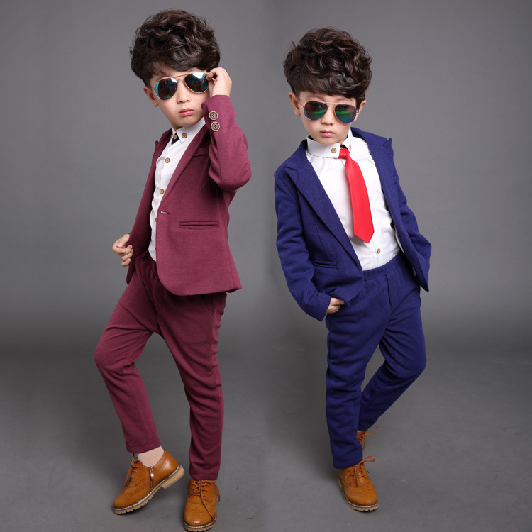 BEIBEI Children Suit Baby Boys Suits Kids Blazer Boys Formal Suit For Wedding Boys Clothes Set