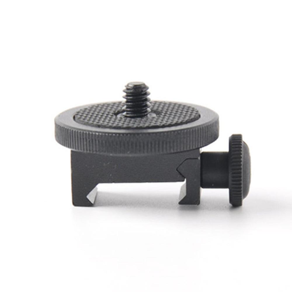 Adaptador de pistola para tornillo de cámara (1/4 pulg.) - Cámara Adaptador de montaje de pistola Escopeta de caza