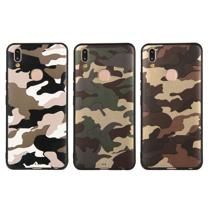 VIVO Y83 V11 Pro V9 Y81 Y85 Case Army Camo Soft Silicone Back Case Cover on VIVO V11 Y83 PRO Y71 Camouflage Phone Case Coque