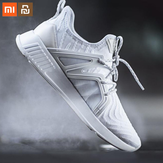 xiaomi youpin 90-piece Siamese sneakers, men's and women's sports shoes surrounded by TPU and high-quality leather Smart