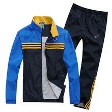 2017 herren Sportswear Frühjahr Herbst Trainingsanzug Für Männer Jog Anzug Hoodie Sweatshirt Männer Chandal Hombre Survêtement. EA03