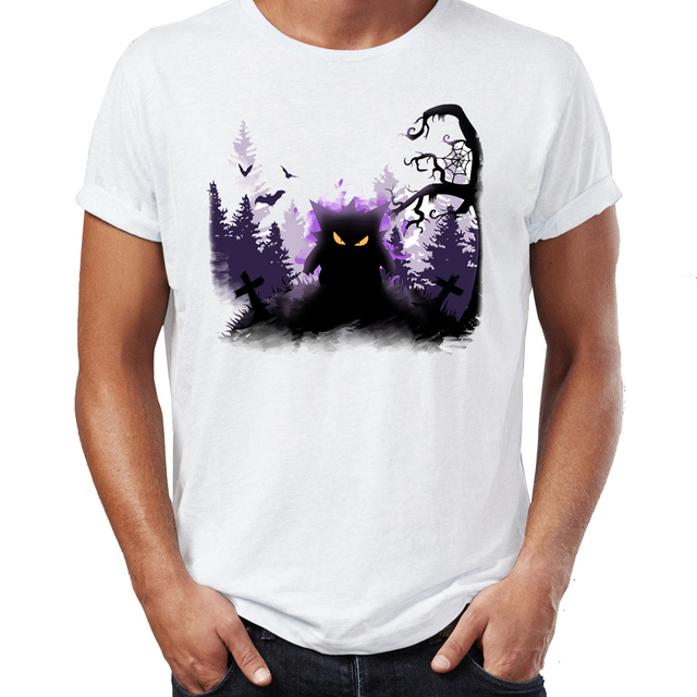 7b0db997 Men's T Shirt Gengar Is Close By Pokemon Funny Gaming Artsy Awesome Artwork  Printed Tee