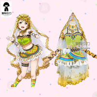 Hanayo Koizumi Cosplay Love Live! School Idol Project Awakening Arab Dancer Lovelive ASCOSING Idolized Costume Veil Accessories