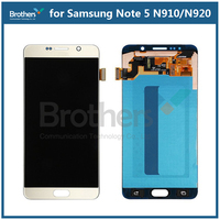 LCD Display Assembly For Samsung Galaxy Note 5 Touch Screen Digitizer for Samsung N910 N920 Screen Aseembly Phone Replacement