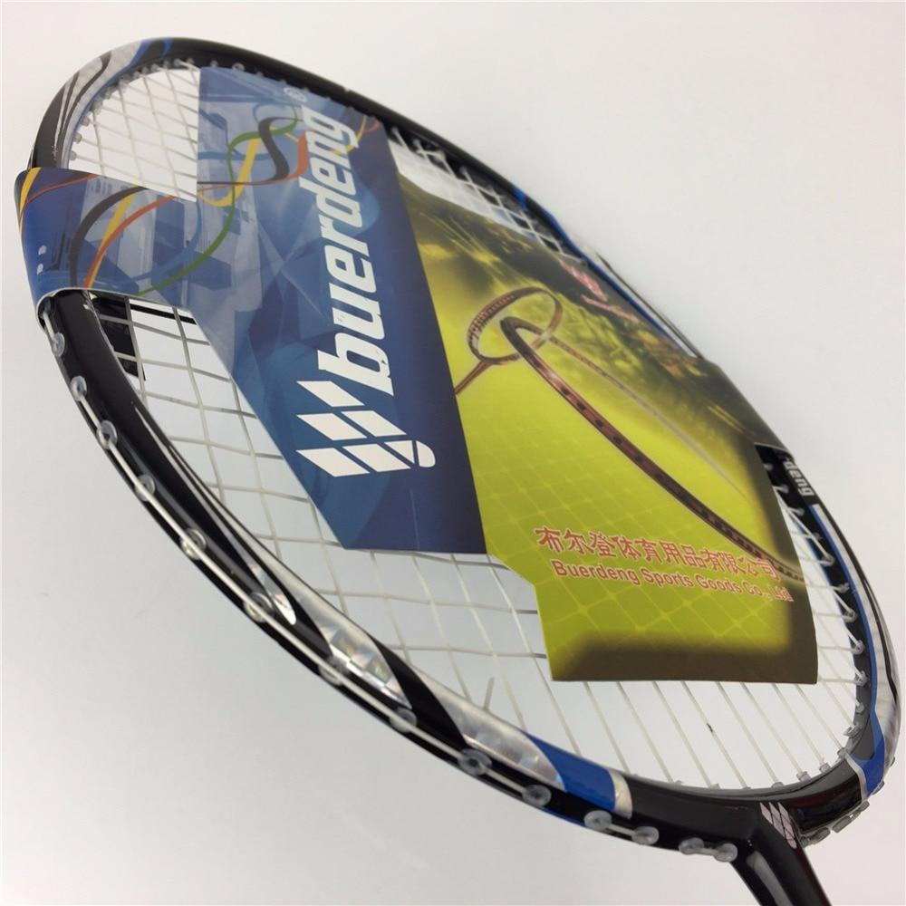 2017 New 4U badminton racket with badminton string good ...