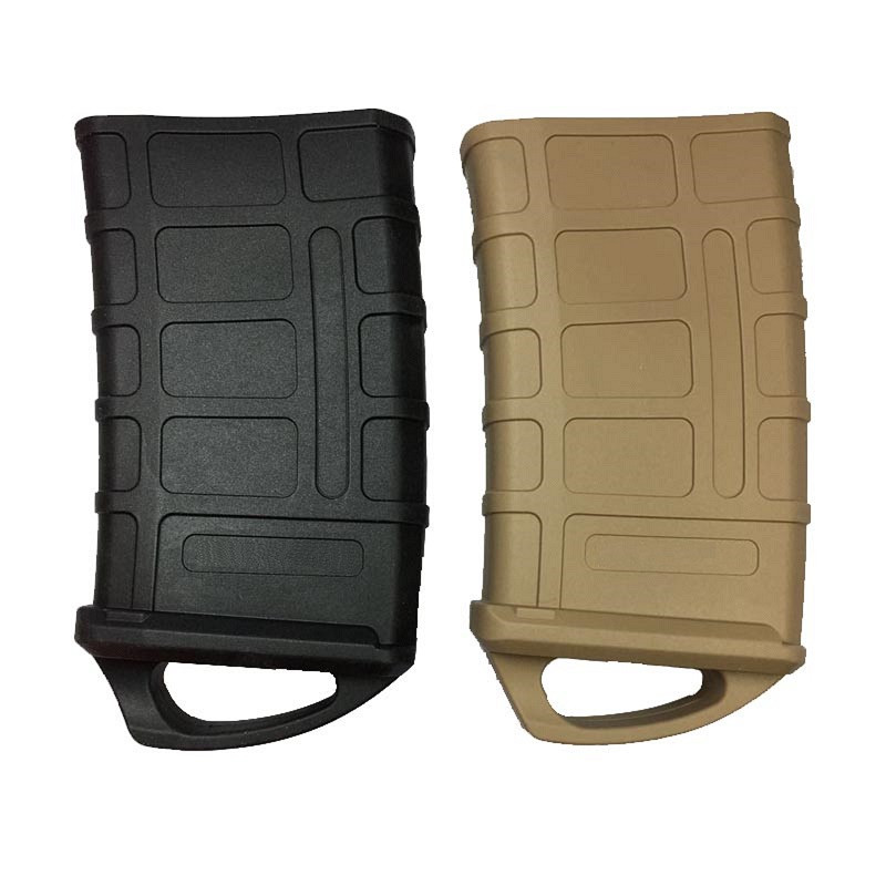 M4/M16 Fast Magazine Rubber Holster Hunting Tactical Rubber Pouch 5.56 NATO Mag Pouch Bag Water Gun Cartridge Accessories