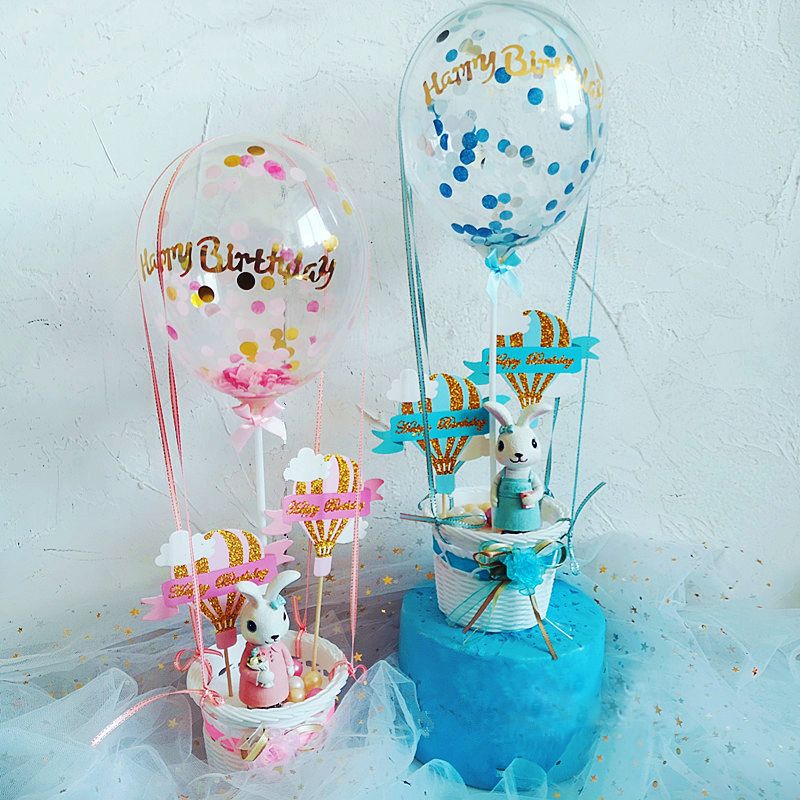 Sequin-Hot-Balloon-Cradle-Happy-Birthday-Cake-Topper-Boy-Girl-Gift-Cake-Top-Flags-Shower-Decoration