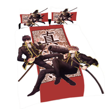 цена на Gin Tama Anime Hijikata & Okita 150*210CM Single-side Quilt Cover #40153