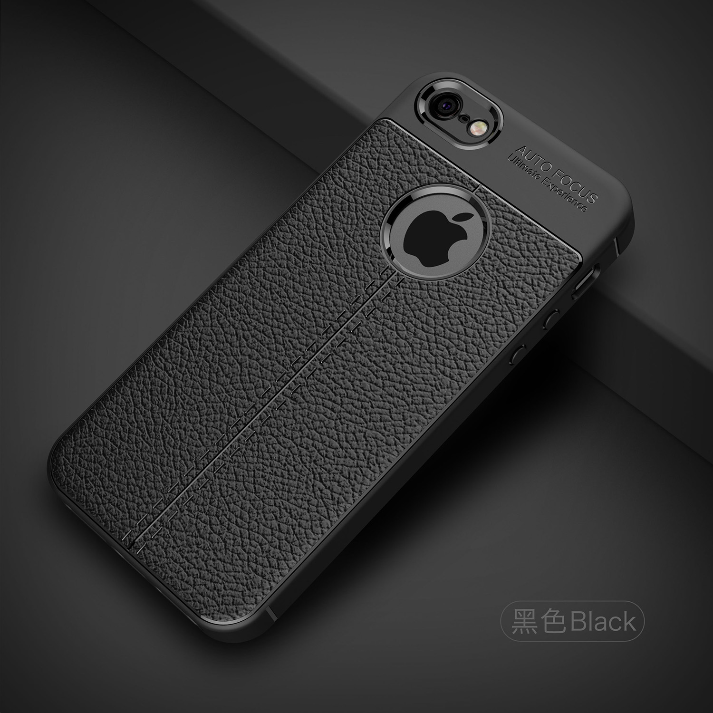 Shockproof Luxury Leather Soft iPhone Case 8
