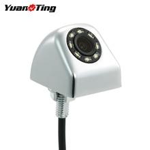 YuanTing, 170 градусов, 8 светодиодный, ночное видение, водонепроницаемый, для автомобиля, заднего вида, для парковки, безопасная камера, выбор режима