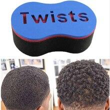 1pc blackman Magic Hair Twist Sponge Fir Afro Dreadlocks Curly Brush Coil Waves