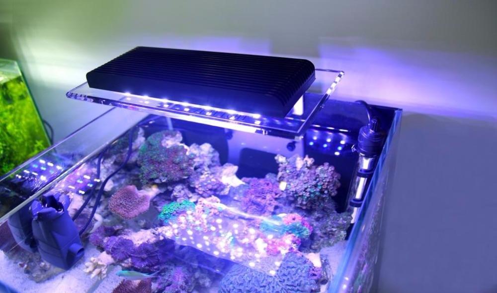 Pełne spektrum wiele trybów sterowania Wifi rosną LED oświetlenie pełne spektrum oświetlenie akwarium z wschodem słońca zachód słońca morze światła w Oświetlenie od Dom i ogród na  Grupa 2