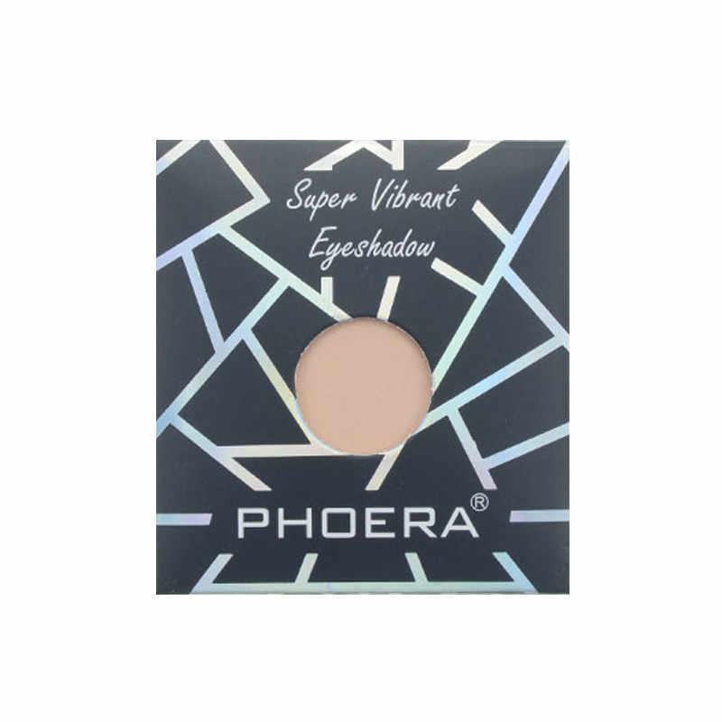 PHOERA 12 色ミニモノクロマットアイシャドウパレット防水ダイヤモンド顔料アイシャドウメイク赤アイシャドウ TSLM2