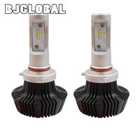 BJGLOBAL K6 ZES Chip 9005 LED Car Headlight Kits 48W 8000LM Far Near Auto Driving Bulbs
