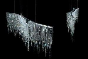 Image 3 - クリスタルシャンデリアledバーフロントデスククリスタルランプハイアットリビングルーム寝室通路現代ポストモダンレストランライト
