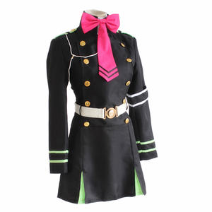Image 3 - Japanese Anime Owari no Seraph Seraph of the end Cosplay Costume Hiragi Shinoa Uniform Halloween party cosplay costume