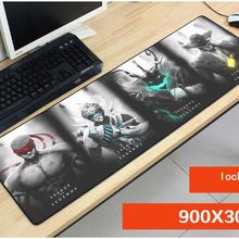 best 900x300mm heros Rengar mouse pad lol mouse mat laptop padmouse Colourful