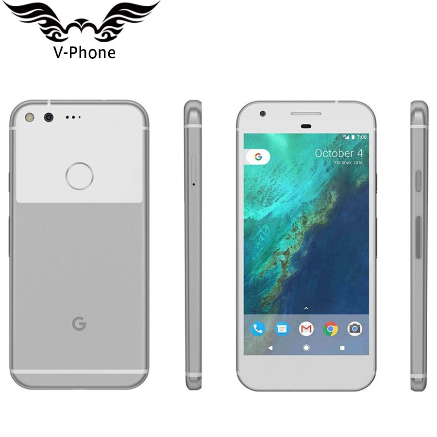 US Version Google Pixel Mobile Phone 4GB 128GB 5 inch Snapdragon 821 Quad Core Android 4G